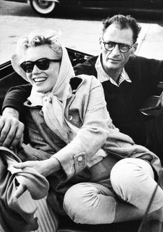 Marilyn Monroe and Arthur Miller, 1950s