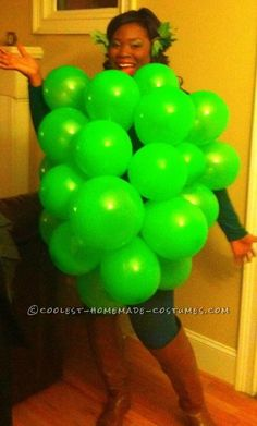 Great Energizer Bunny Costume: DIY with Duct Tape! Halloween Costume Contest, Cool Halloween Costumes, Spooky Halloween, Grapes Costume, Fruit Costumes, Homemade Costumes, Diy Costumes, Costume Ideas, Energizer Bunny Costumes