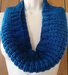 Check out this item in my Etsy shop https://www.etsy.com/listing/204981445/knit-cowl-hand-knit-cowl-scarf-blue