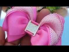 Diy Hair Bows, Diy Bow, Diy Ribbon, Ribbon Bows, Homemade Bows, Diy Hairstyles, Gold Watch, Hair Pins, Headbands