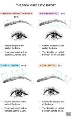 DIY Makeup: How To Shape Perfect Eyebrows. The Best Guide For Beginners, Beauty Tips and Tricks By Makeup Tutorials http://makeuptutorials.com/shape-perfect-eyebrows/