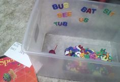 Lesson in Literacy and spelling!