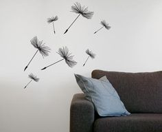 Seed wallstickers - Happylines