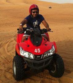 Dunning at the Desert Safari, hata (UAE)