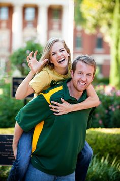 Engagement pics on #Baylor campus