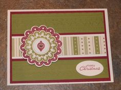 Stampin' Up Quint-Essential Flower and Merry Minis
