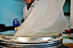 DIMA SHARIF: Warqat Al Bastila - Making Pastilla Sheets طريقة عمل ورقة البسطيلا المغربية