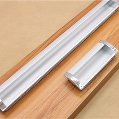 Simplicity Modern Long Aluminum Alloy Concealed Handle Hidden Drawer Cabinet  Door Handles Tatami Used Invisible Handle