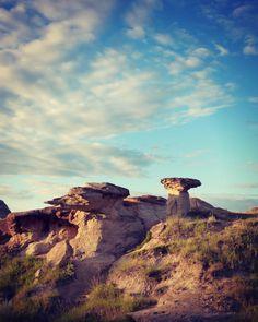 Hoodoos   Alberta Badlands  Landscape Print Nature by WildTravels, $15.00
