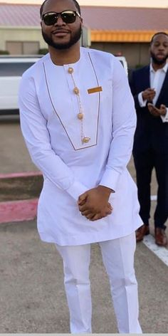 African men kaftan, men wedding outfit, african traditional a Latest African Men Fashion, Latest African Wear For Men, African Shirts For Men, African Dresses Men, Nigerian Men Fashion, African Attire For Men, African Clothing For Men, Latest African Fashion Dresses, African Men Style