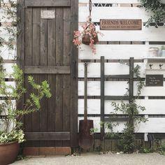 Entrance/アンティーク/DIY/サインプレート/小さな庭/ガーデンフェンス...などのインテリア実例 - 2017-12-15 13:10:19