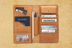 Portefeuille Saddleback leather