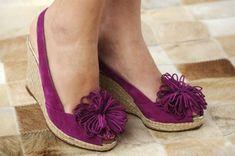 zapato#cuña#purple MODELO FRIJOL MORANGUITO compra online www.moranguito.com