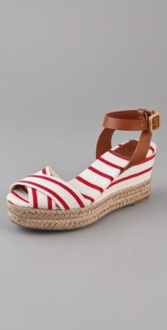 Tory Burch Karissa Wedge Sandals thestylecure.com
