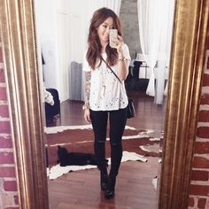 HeyClaire   Tee + Jeans