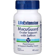 Life Extension MacuGuard Ocular Support with Saffron and Astaxanthin Softgels, 60 Ct, As Shown Saffron Plant, Saffron Benefits, Randomized Controlled Trial, Information Processing, Healthy Eyes, Life Extension, Oxidative Stress, Nutritional Supplements, Protein Supplements