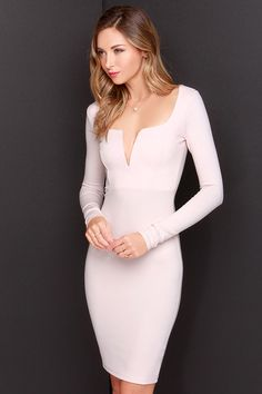 Exclusive Chic and Loving It Pale Blush Midi Dress Dresses For Sale, Cute Dresses, Beautiful Dresses, Short Dresses, Zara Dresses, Dress Skirt, Dress Up, Bodycon Dress, Dress Long