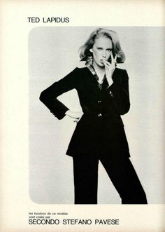 Source by fashion 70s Fashion, Vintage Fashion, Womens Fashion, Christian Dior, Haute Couture Designers, Ted Lapidus, Tartan, Editorial Fashion, Suits