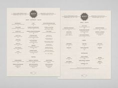 sophisticated identity refresh for a Norfolk, Virginia based restaurant, by Forest.