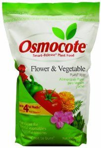 Osmocote 276950 Flower and Vegetable Smart Release Plant Food/Fertilizers, 10-Pound by Osmocote. $27.29. Analysis: 14-14-14. Our most popular Osmocote formula ? can be used both indoors and out. Ideal plant food for propagating, planting, transferring and repotting. Our most popular Osmocote formula – can be used both indoors and out. Ideal plant food for propagating, planting, transferring and repotting. Analysis: 14-14-14.
