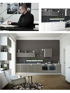 S12 Svane Køkken Kitchen Interior, New Kitchen, Interior Inspiration, Scandinavian, Flat Screen, Indoor, Interiors, Colour, Crafts