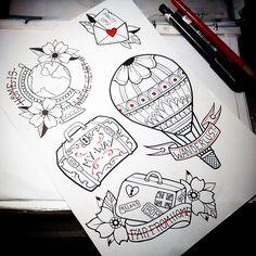elenaskullcake_tattoo  Sketch disponibili  #tattoo #sketch #tattoosketch…