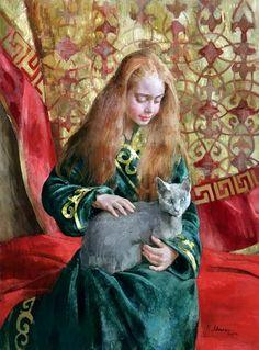 Artist - Natasha Milashevich was born in 1967 in Dushanbe in the former Soviet Union (currently Tajikistan).