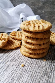 {Healthy; Low Calorie} These skinny peanut butter cookies cut the calories and the sugar-- but not the indulgent taste!
