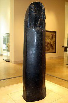 Mesopotamian King Hammurabi | Paris - Musée du Louvre: Code de Hammurabi, roi de Babylone | Flickr ...