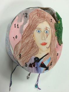 Charlotte, final piece for the Y9 'This is Me' Project. St Mary's Catholic High School.