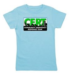 Cert Girl's Tee Girl Power comes shining through in these packed-with-a-punch t-shirts for girls. With a slim fit and longer length cut, girls are free to dance and play in comfort all day. #CERT #CommunityEmergencyResponseTeam #Survivalist #Survival #Preparedness #Prepper #Homesteading #Homestead #Hoodie #CERTGear #SHTF #Tee #TShirt