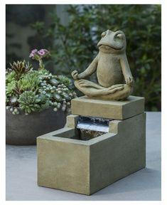 Mini Zen Frog Fountain