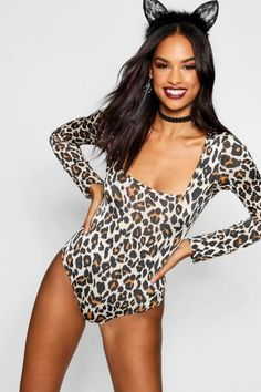 halloween leopard print high neck midi dress boohoo halloween pinterest