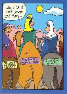 Mary's Donkey Sticker