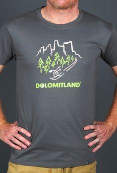 DOLOMITLAND T SHIRT HANDMADE DESING