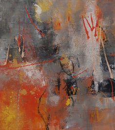 Abstrakte Kunst von Iris Rickart / Unikatbild 68