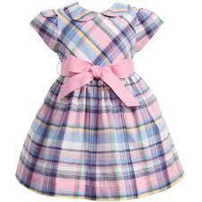 Ralph Lauren Little Girl Dresses Baby Dress Design, Baby Girl Dress Patterns, Little Girl Dresses, Frock Design, Girls Dresses, Toddler Outfits, Kids Outfits, Kids Frocks, Mode Chic