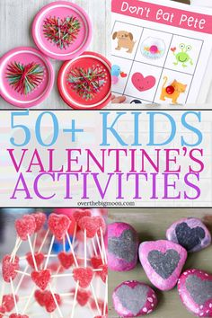 50+ Valentine's Activities and Crafts for Kids