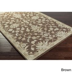 Hand-tufted Karla Traditional Wool Rug (9' x 12') (