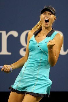 Another gorgeous Sharapova dress.