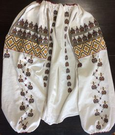 Online Mobile, Hand Embroidery, Cross Stitch Patterns, Textiles, Costumes, Traditional, Shirts, Tops, Design
