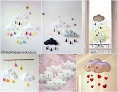 Nubes de fieltro