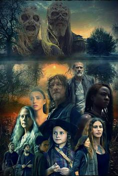 SEASON 10 Walking Dead Season 9, Walking Dead Art, Walking Dead Zombies, Walking Dead Pictures, Stuff And Thangs, Series Movies, Best Shows Ever, Favorite Tv Shows, Fan Art