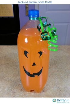 Cute idea for a kids Halloween party. Quick and easy to put together.