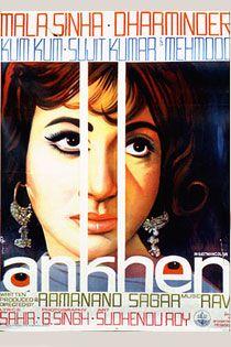 Ankhen (1968) Hindi Movie Online in SD - Einthusan Mala Sinha , Dharmendra,Mehmood ,Kumkum Directed by Ramanand Sagar Music by Ravi 1968 [U] ENGLISH SUBTITLE