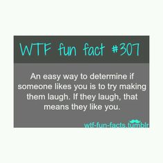 not necessarily. but sometimes. the better indicator is if they try to make YOU laugh