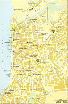 Tel Aviv road map