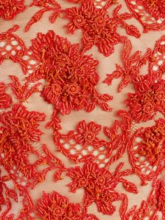 Details of a beaded evening dress. Givenchy, 1963. Victoria & Albert museum, London.