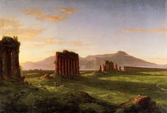 Thomas Cole, Roman Countryside, 1843