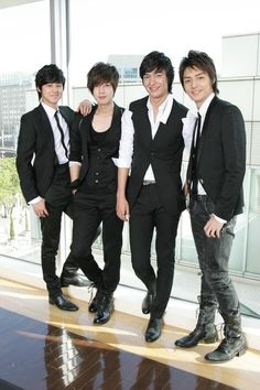 Boys Over Flowers - F4 The amount of emotional trauma that has been cause by these people..... Gah.